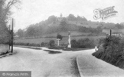 West Wycombe, Hill And The Pedestal 1906