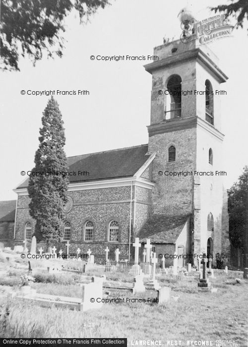 Photo of West Wycombe, Parish Church Of St Lawrence c.1960