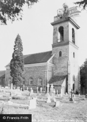 West Wycombe, Parish Church Of St Lawrence c.1960