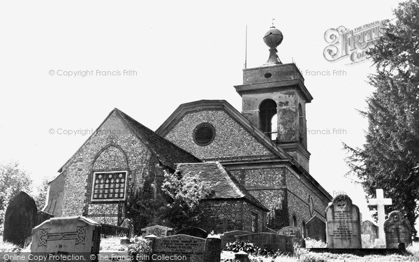 Photo of West Wycombe, St Lawrence's Church c.1955