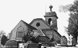West Wycombe, St Lawrence's Church c.1955
