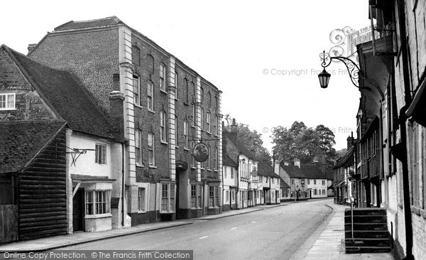 Photo of West Wycombe, The George And Dragon 1954