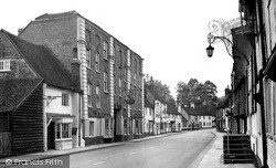 West Wycombe, The George And Dragon 1954