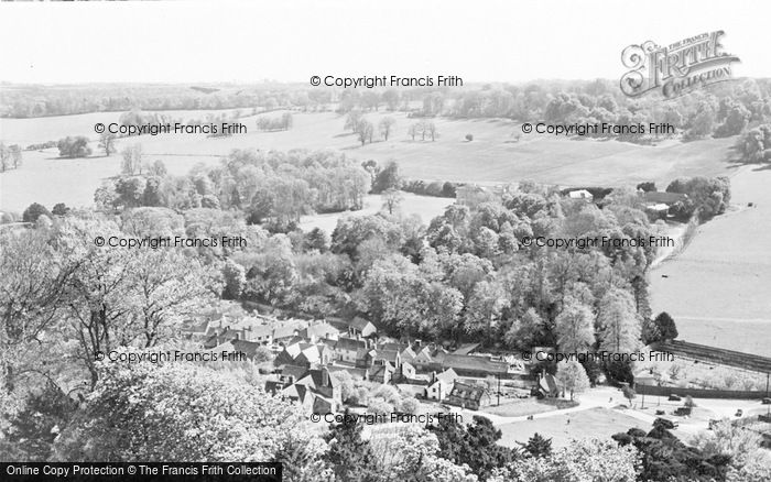 Photo of West Wycombe, The Village c.1955