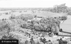 The Village c.1955, West Wycombe