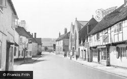 West Wycombe, The Village c.1955