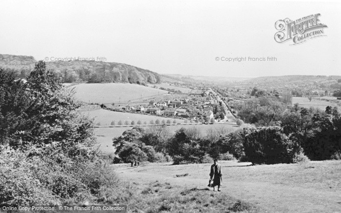 Photo of West Wycombe, View From The Church c.1955