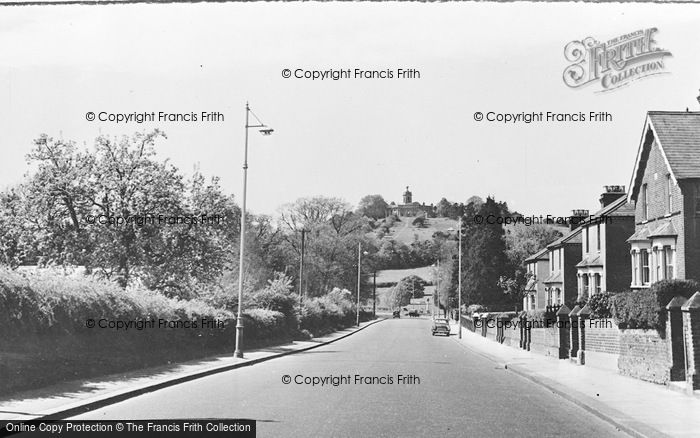 Photo of West Wycombe, View From The East c.1955