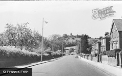 West Wycombe, View From The East c.1955