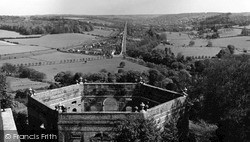 West Wycombe, View From The Tower c.1955