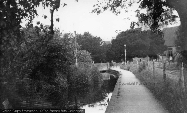 Photo of Westbourne, Church Walk c.1955