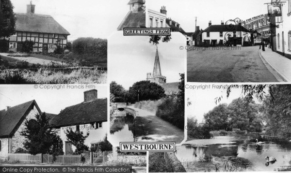 Photo of Westbourne, Composite c.1955