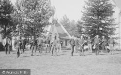 Westbourne, Men At Herbert Home 1892