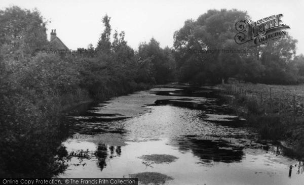 Photo of Westbourne, Mill Stream c.1955