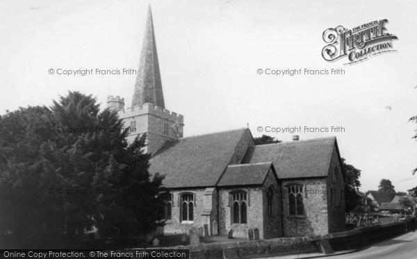 Photo of Westbourne, St John The Baptist's Church c.1955