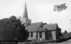 St John The Baptist's Church c.1955, Westbourne