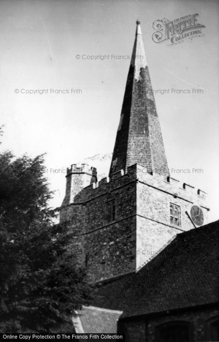 Photo of Westbourne, St John The Baptist's Church c.1955