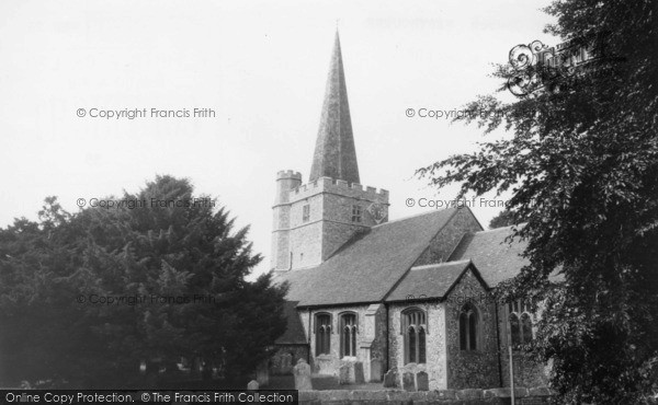 Photo of Westbourne, St John The Baptist's Church c.1965
