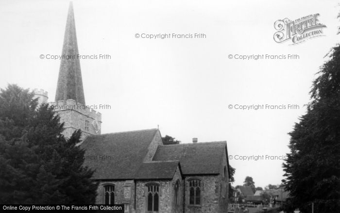 Photo of Westbourne, St John The Baptist's Church c.1965