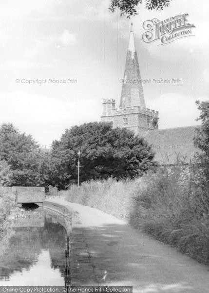 Photo of Westbourne, The Brook, Church Path And Church c.1955
