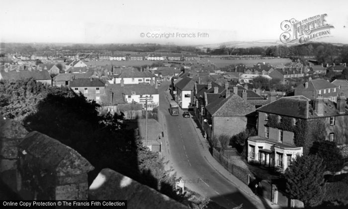 Photo of Westbourne, View From The Church c.1955