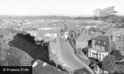 View From The Church c.1955, Westbourne
