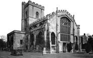 Westbury, All Saints Church c1955