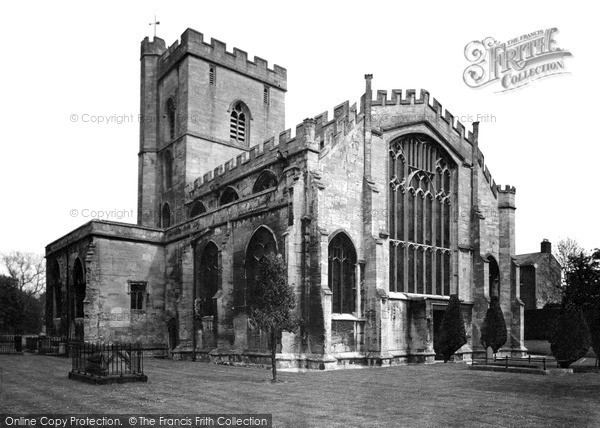 Photo of Westbury, All Saints Church c1955