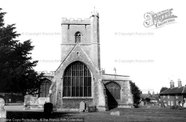 Photo of Westbury, All Saints Church c.1965