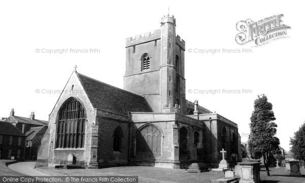 Photo of Westbury, All Saints Church c.1965