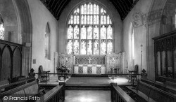 Westbury, All Saints' Church, Interior c.1955