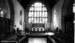 Westbury, All Saints' Church Interior c.1955