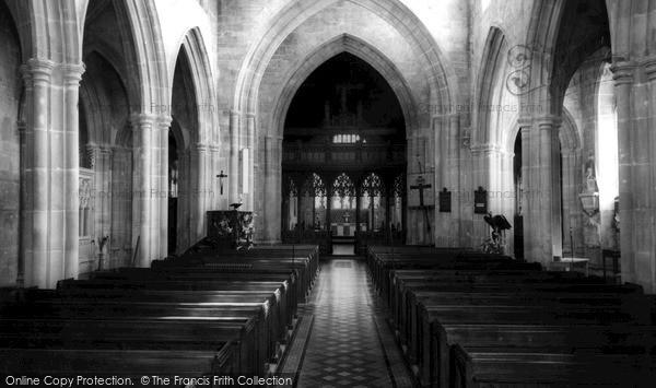 Photo of Westbury, Church c.1955