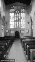 Westbury, Church c.1965