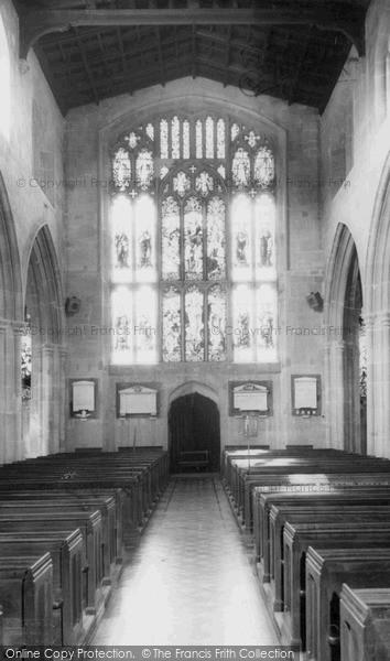 Photo of Westbury, Church Interior c.1965