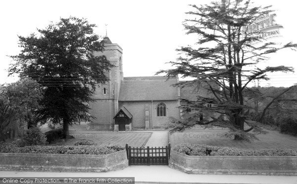 Photo of Westbury Leigh, Church Of The Holy Saviour c.1955