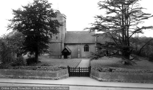 Photo of Westbury Leigh, Church Of The Holy Saviour c.1955