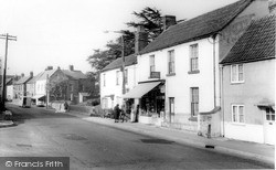 Post Office And High Street c.1965, Westbury Leigh