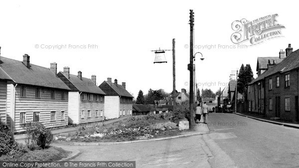 Photo of Westbury Leigh, The Village c.1955