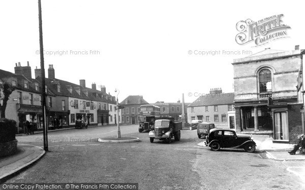 Photo of Westbury, Market Place c.1950