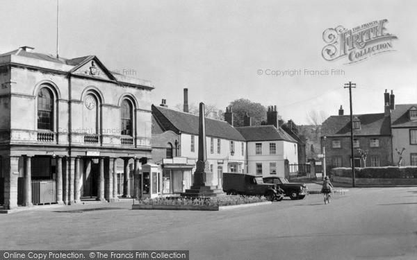 Photo of Westbury, Market Place c.1955