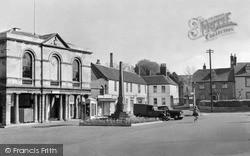 Westbury, Market Place c.1955