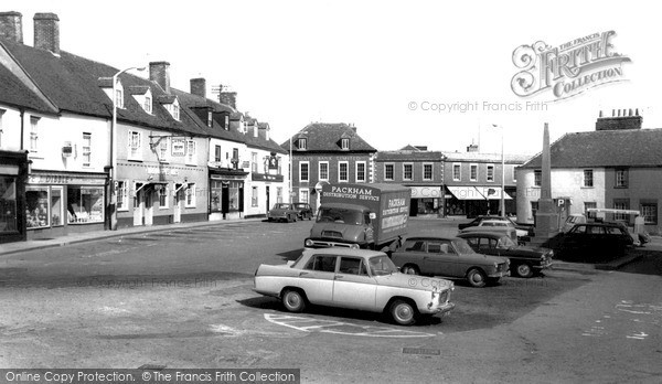 Photo of Westbury, Market Place c.1965