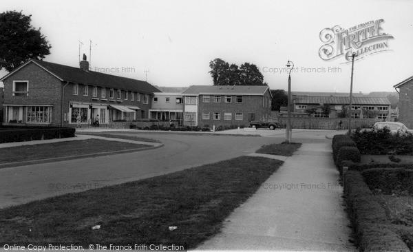 Photo of Westbury, Old Folks Group Dwellings c1965