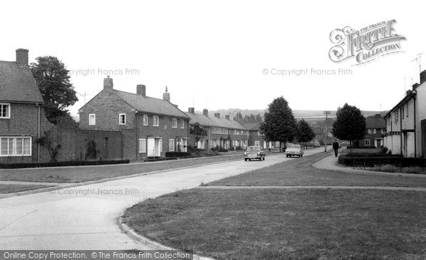 Westbury, Oldfield Park Estate c1965