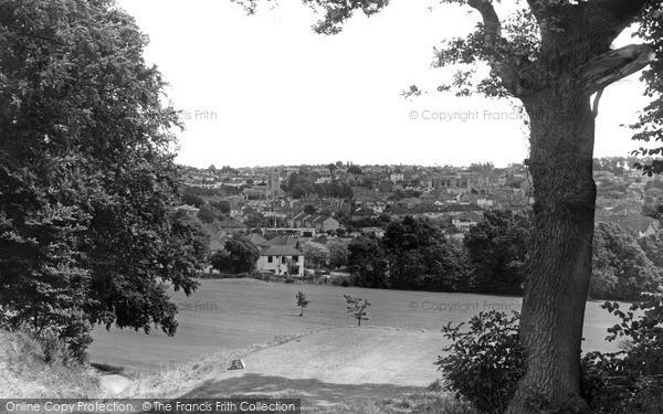 Photo of Westbury On Trym, From Henbury Golf Course c.1960