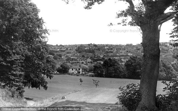 Westbury-On-Trym, From Henbury Golf Course c1960