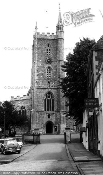 Photo of Westbury on Trym, Holy Trinity Church c1960