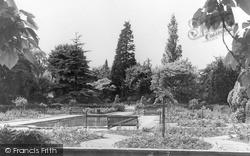 The Rose Garden, Canford Park c.1968, Westbury On Trym