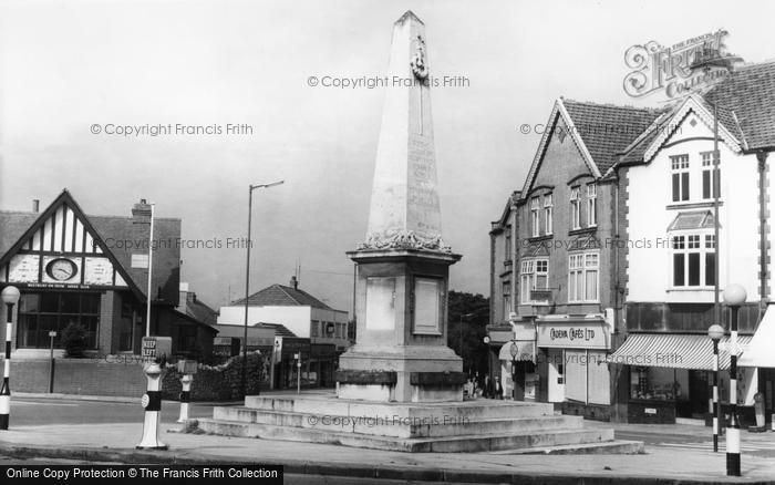 Photo of Westbury On Trym, The War Memorial c.1960